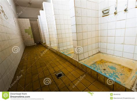 The Bathroom Factory bathroom of an abandoned factory stock photography image 38446162