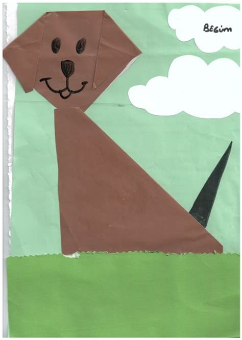 Simple Paper Folding For Kindergarten - crafts actvities and worksheets for preschool toddler and