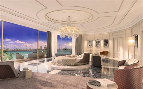largest bedroom in the world spectacular underwater villas at the new heart of europe
