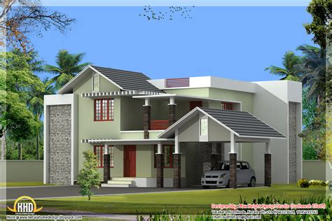 nice home plans 2550 sq ft nice home elevation kerala home design and