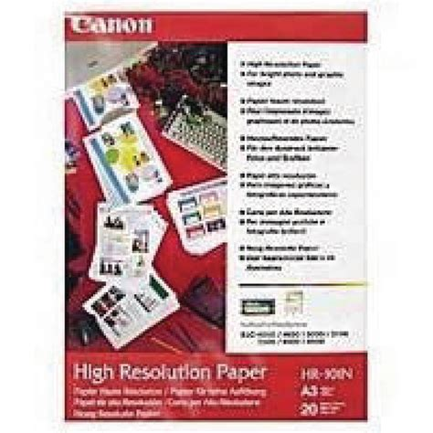 canon high resolution canon high resolution a3 inkjet paper 106gsm 100 pack