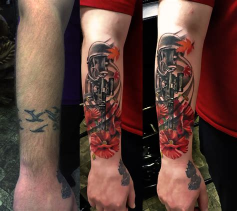 modern forearm tattoo 6 memorial forearm tattoo on
