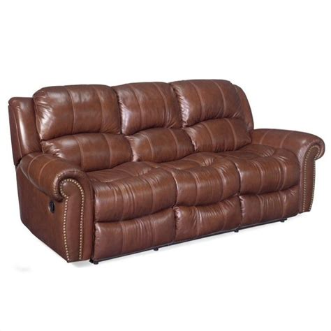 seven seas sofa hooker furniture seven seas leather sofa set in cognac