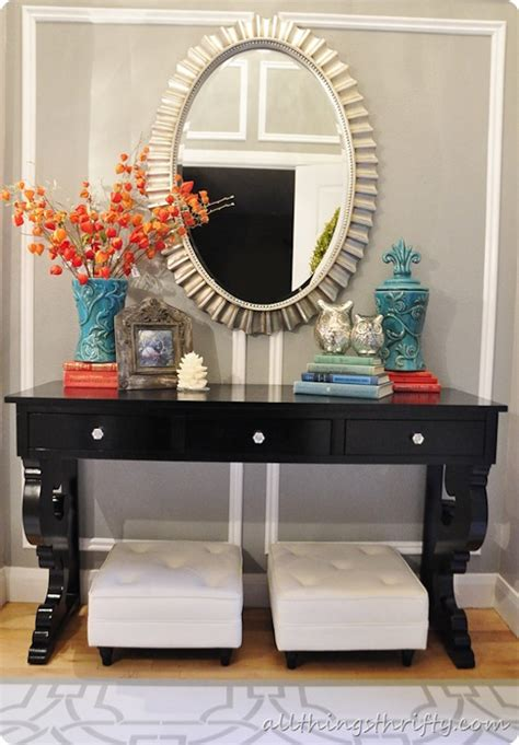 entryway table decor inspiration lydi out loud