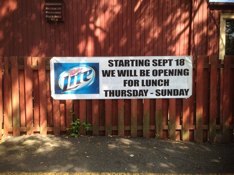 dog house washington township dog house saloon in washington township now serves lunch