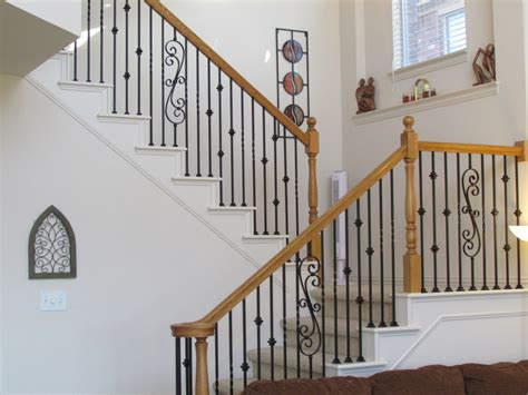 rod iron banister elegant design wrought iron railings picture