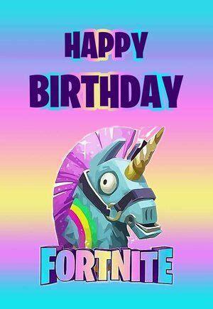 fortnite printable birthday cardjpg happy birthday