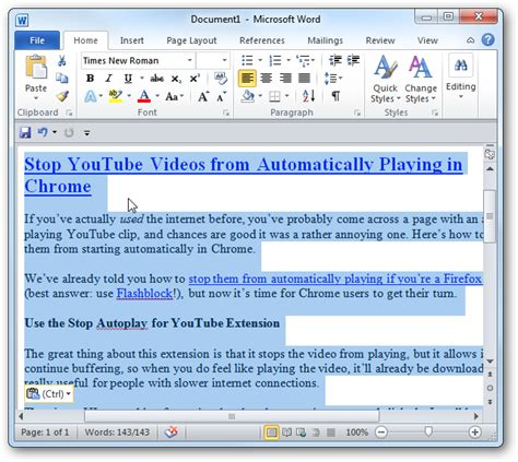 remove layout word how to paste text into microsoft word documents without
