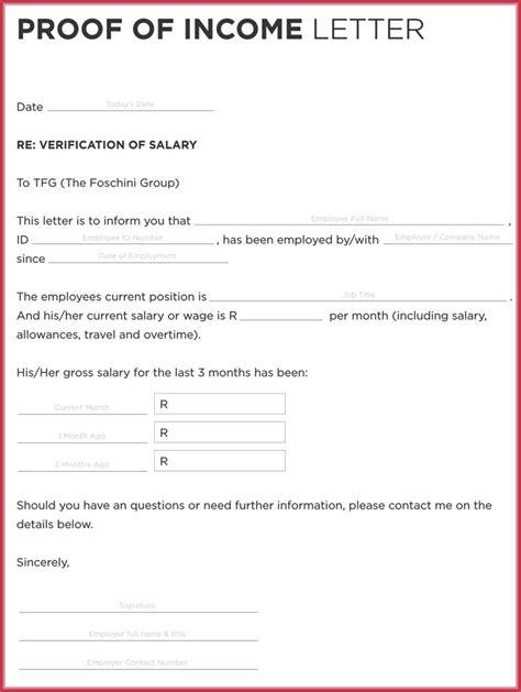 new income verification letter format regulationmanager com