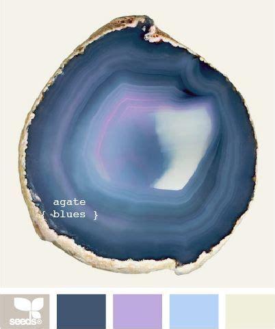 Color Design Palette Color Wander Agate Blue Palette And Design Seeds