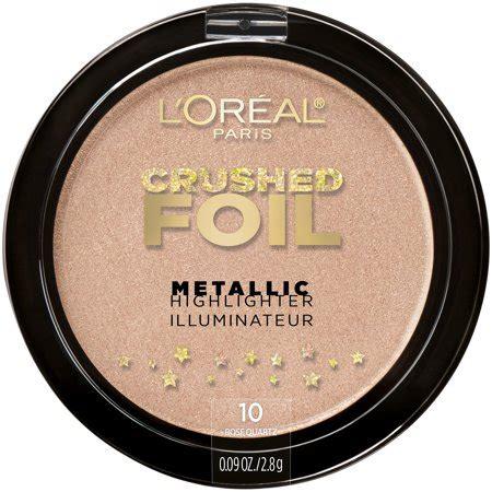 Loreal Highlighter loreal crushed foils highlighter walmart