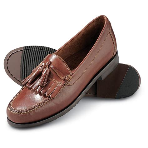 duck sandals duck 174 jackson kiltie tassel dress shoes