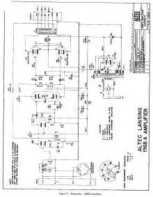 triode electronics altec lansing schematic literature archive