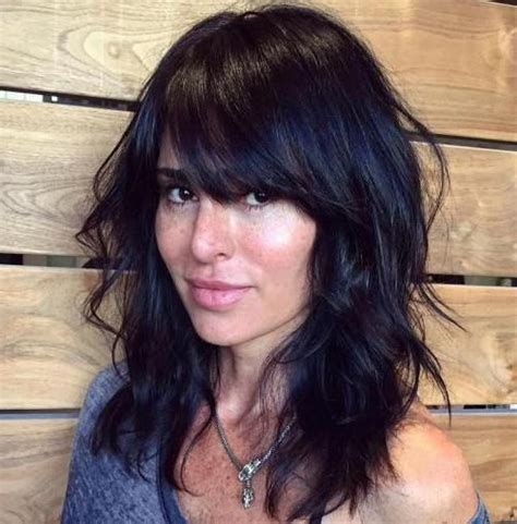 Black Hairstyles With Bangs And Layers by 15 Photo Of Black Hairstyles With Bangs And Layers