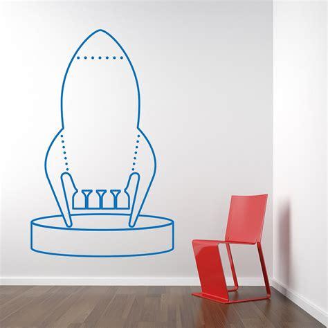wall sticker custom custom rocket wall sticker from wall chimp uk