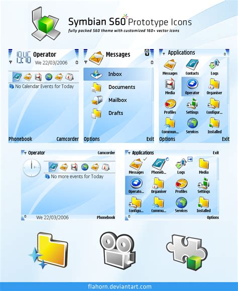 new themes s60 symbian s60 prototype theme by evasketch on deviantart