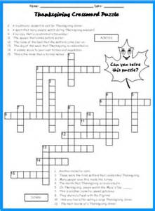 thanksgiving crossword puzzles printable thanksgiving bulletin board displays and puzzles for