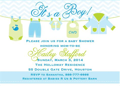 Baby Boy Shower Invitation by Free Baby Boy Shower Invitation Templates Theruntime