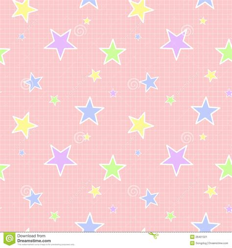 seamless pattern stars seamless pastel star pattern stock illustration