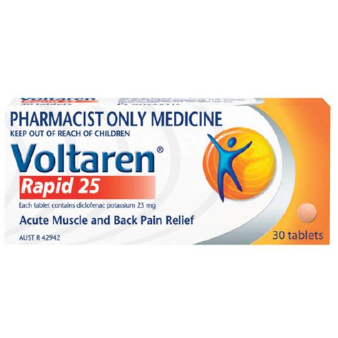 Can I Apply To Mba With Only Pharmd by Buy Voltaren Rapid 25mg 30 Tablets S3 At Chemist
