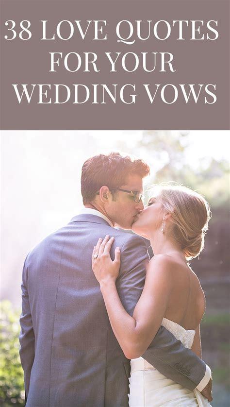 The 25  best Romantic wedding vows ideas on Pinterest