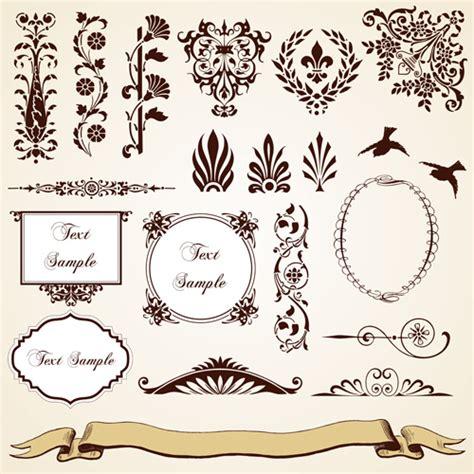 design elements names name vintage floral design elements male models picture
