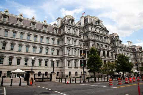 Eisenhower Executive Office Building by Eisenhower Executive Office Building