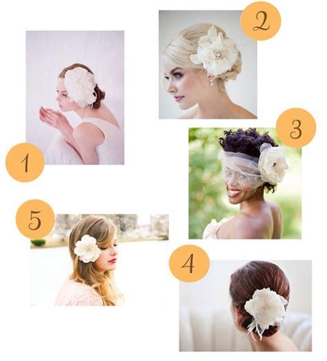 Wedding Hair Flowers Etsy by Etsy Roundup Hair Flowers Polka Dot