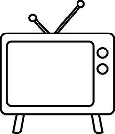 Blue Outline On Tv by Free Television Clip Pictures Clipartix