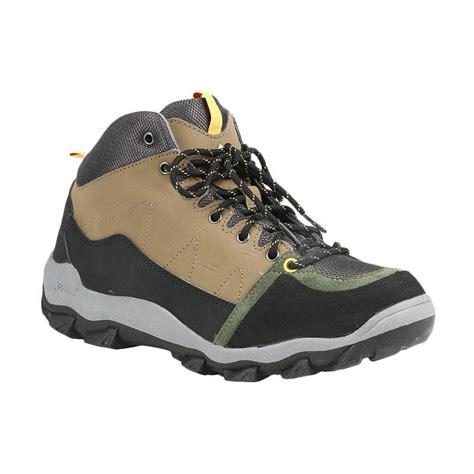 Daftar Sepatu Boots Eiger jual eiger mid boot shamrock sepatu pria coklat