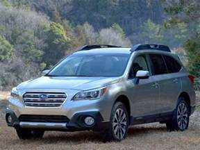 Subaru Outback Seating 2015 Subaru Outback Crossover Suv Review Autobytel