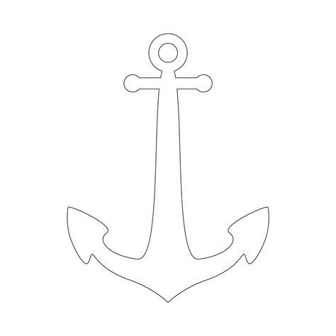 anchor stencil free printable stencil templates wood