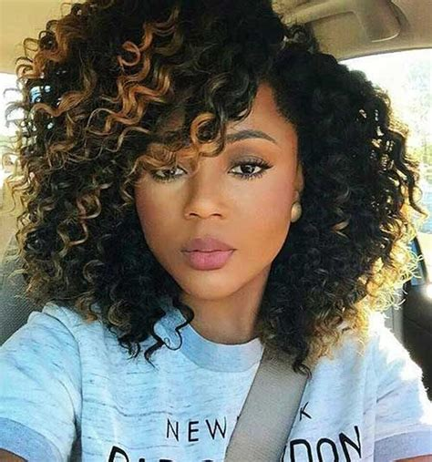 wavy sew in hairstyles for black women 25 best ideas about curly weave hairstyles on pinterest