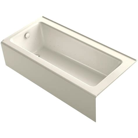 kohler bathtubs home depot porcelain enameled cast iron alcove tubs bathtubs