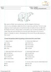 poldo the polar bear reading comprehension