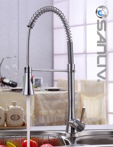 Kitchen Faucets Single Handle With Sprayer by Pullout Spray Kitchen Sink Faucets Sanliv Kitchen