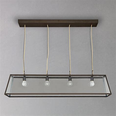 Ceiling Light Boxes Davey Triangular Diner Box Ceiling Light Industrial Chandeliers By Lewis