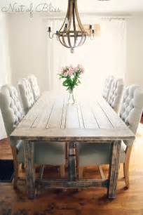 Dining Room Farm Tables Selecting The Right Dining Chairs Nest Of Bliss