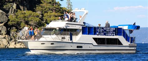 lake tahoe charter boats the party boat lake tahoe private boat charters