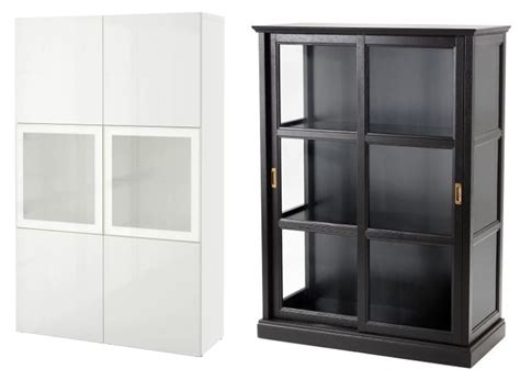 10 aparadores y vitrinas ikea para decorar tu sal 243 n - Ikea Vitrinas Salon
