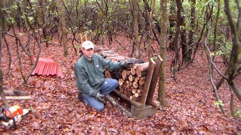 build a firewood rack the easy way an easy and cheap way to stack your firewood