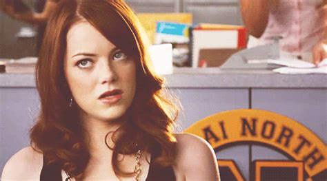 emma stone gif on tumblr emma stone sigh gif find share on giphy
