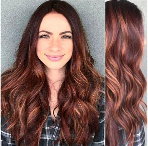 highlights tgar matches a medium auburn 35 auburn hair color styles peinado de trenza