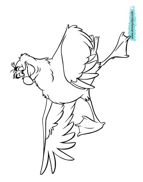 the little mermaid coloring pages scuttle the little mermaid coloring pages disney coloring book