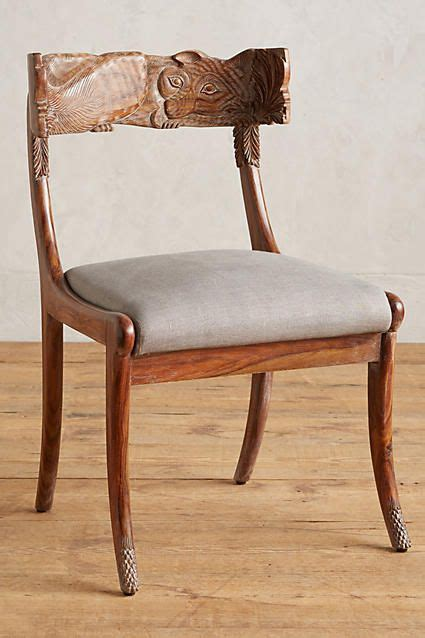 Anthropologie Dining Chairs Handcarved Fable Dining Chair Home Chairs And Anthropologie