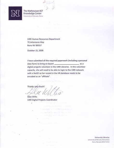 Community Service Verification Letter Sle Community Service Verification Letter 49 Images Sle