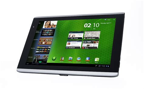 Tablet Android Acer Iconia android tablet acer iconia tab a501 4 webrazzi
