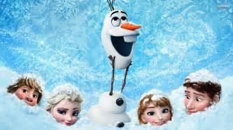 juegos frozen personajes frozen bajo nieve descargar fondos pantalla frozen