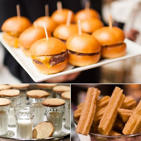 Serving At Your Wedding by Late Wedding Snacks Popsugar Food