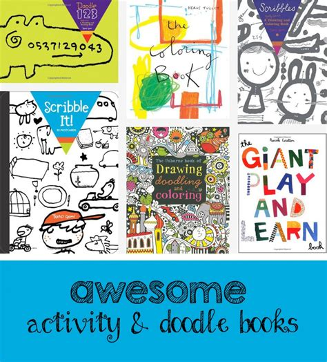 doodle book means simple activities that will keep your engaged